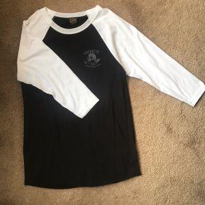 Obey 3/4 sleeve shirt, never worn, size medium